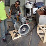 fan drum with multiwing axial fan