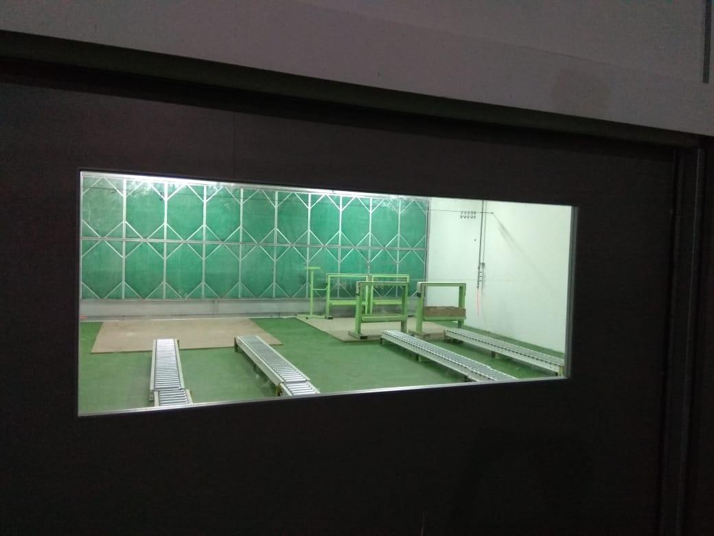 spraybooth & painting room